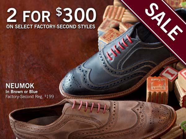 allen edmonds factory seconds sale