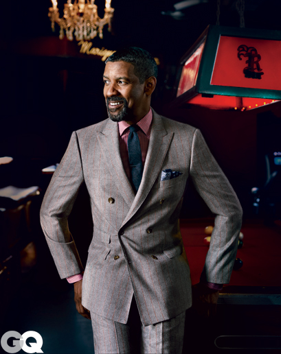 Denzel Washington - GQ - Nathaniel Goldberg