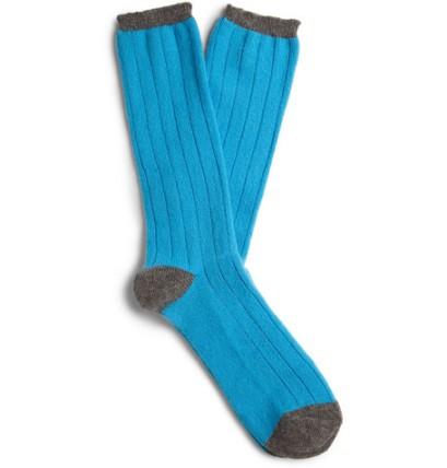 j crew cashmere socks