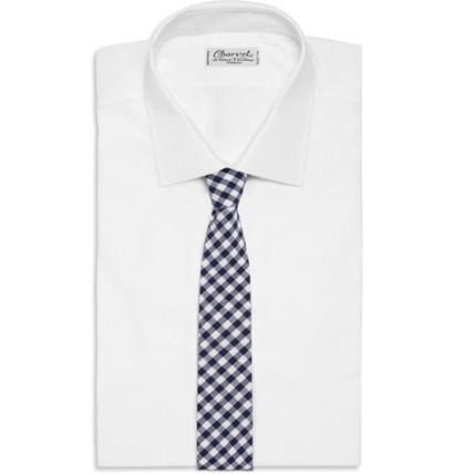 J Crew Cotton Necktie 3