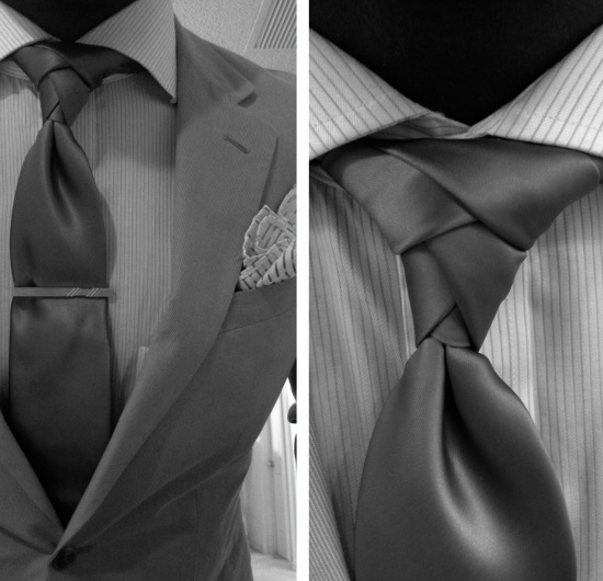 Style substance the eldredge knot the gentlemens standard behold in all of its complex pageantry the eldredge knot this peculiar knot has leisurely traveled the internet circuit over the last few months ccuart Image collections