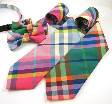 The Tie Bar Madras Tie