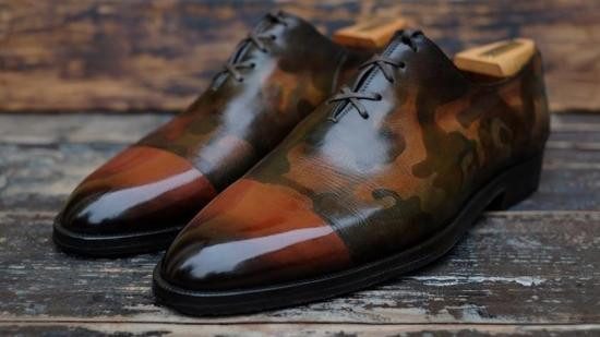Camo Oxfords