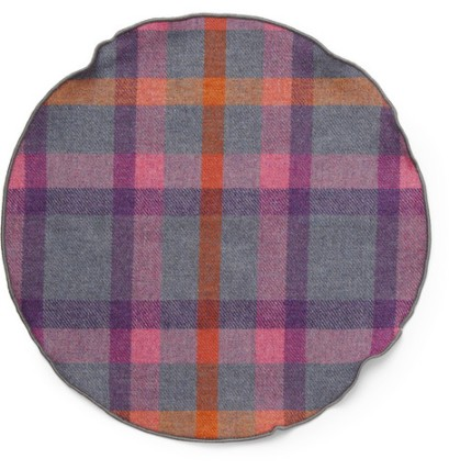 A. Olch Plaid Pocket Square