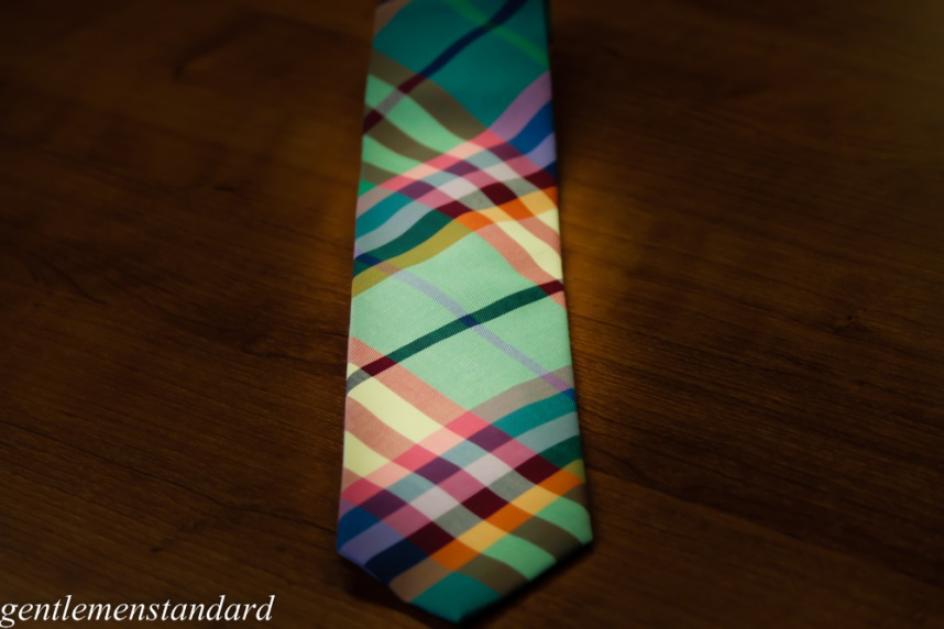 Tie Bar Plaid