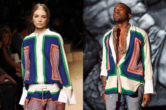 kanye blouse
