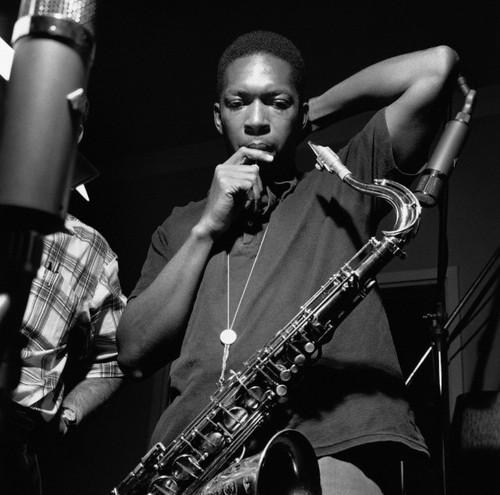 Saxophonist John Coltrane