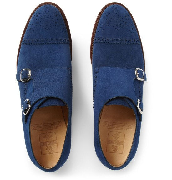 OKeefe Suede Monks