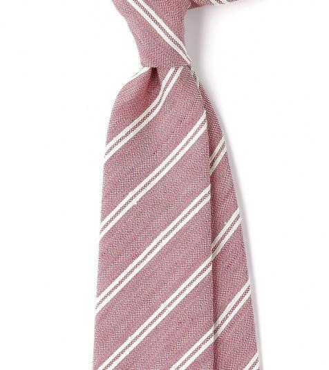 Drakes Linen Silk Tie