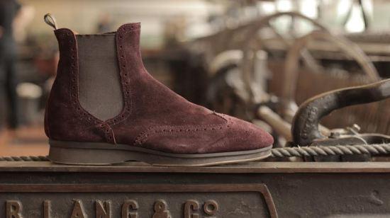 Swift Burgundy Boot