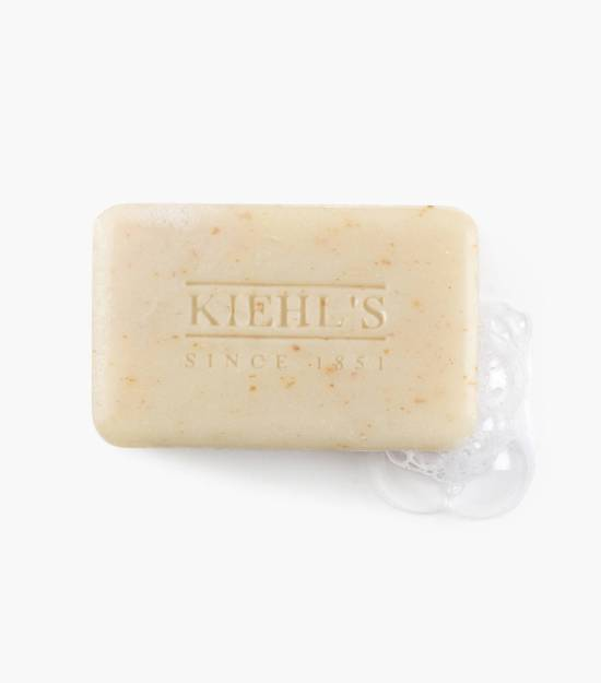 Kiehl's Ultimate Man Body Scrub Soap - this is bar soap